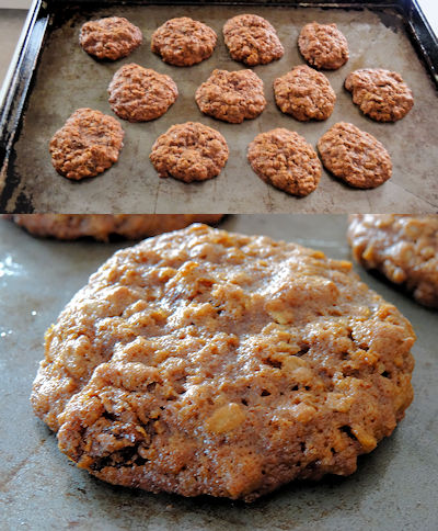 Molasses Oatmeal Cookies 5