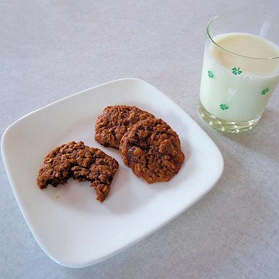 Molasses Oatmeal Cookies at oldfatguy.ca