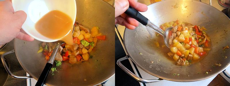 Sweet & Sour Pork Stir Fry 4