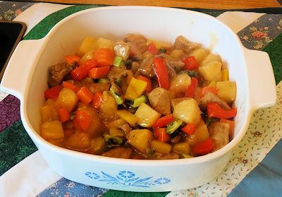 Sweet & Sour Pork Stir Fry 5