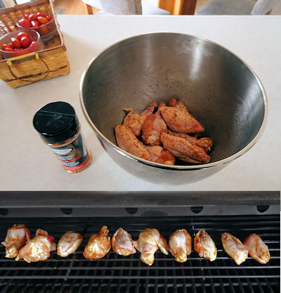 Easy Chicken Wings 1