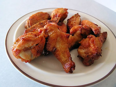 Easy Chicken Wings ar oldfatguy.ca