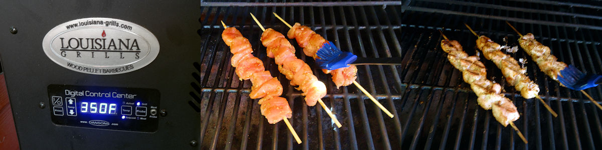 Hoisin Glazed Chicken Skewers 3
