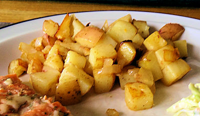 Berbere Grilled Potatoes