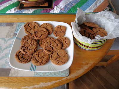 Grandma's Gingersnaps at oldfatguy.ca