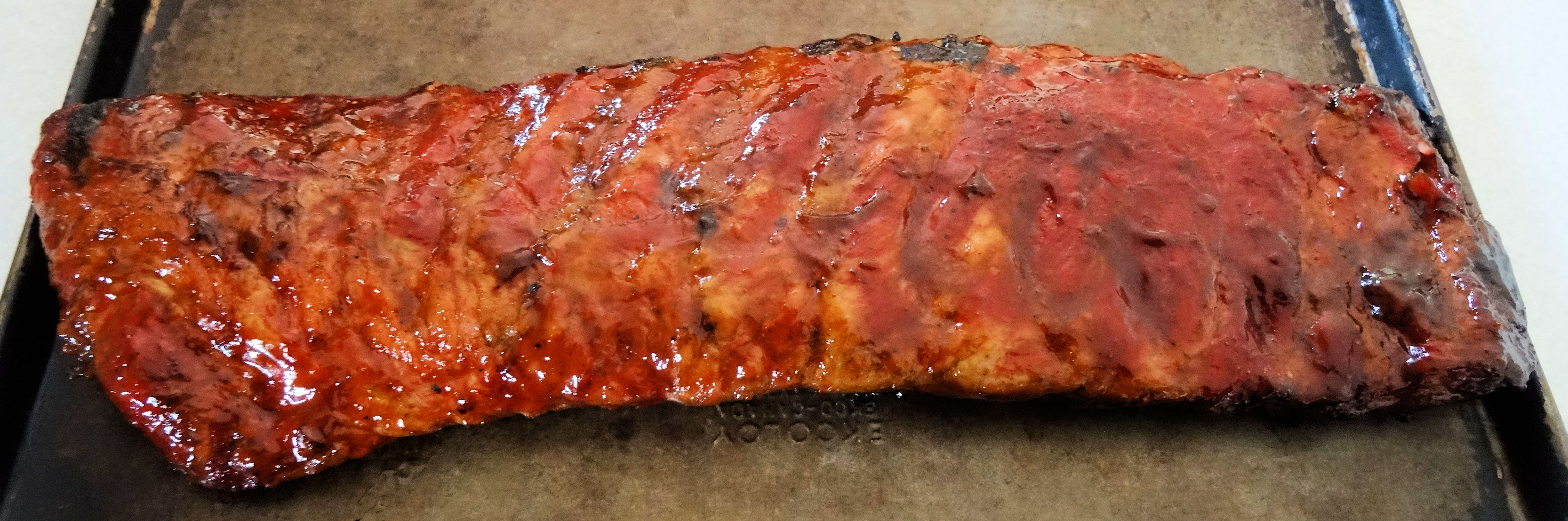 Maple Glazed Ribs 3