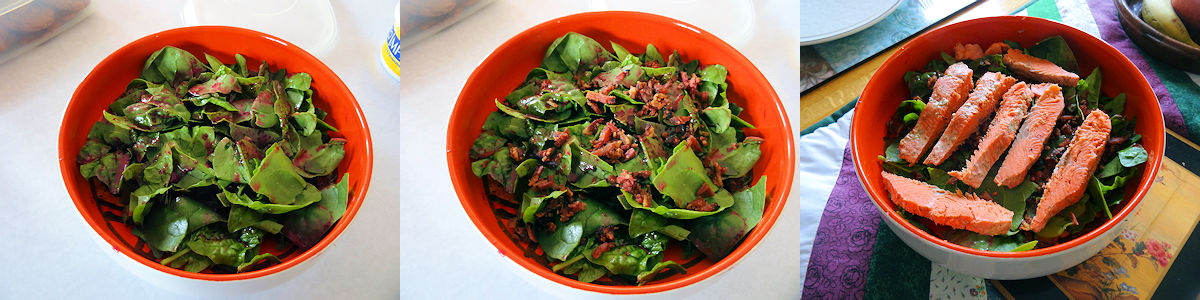 Seafood Salad With Blueberry Vinaigrette 4