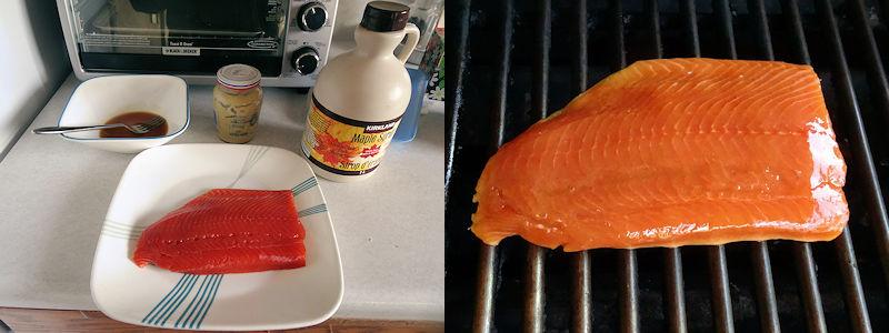 Maple Glazed Salmon 1