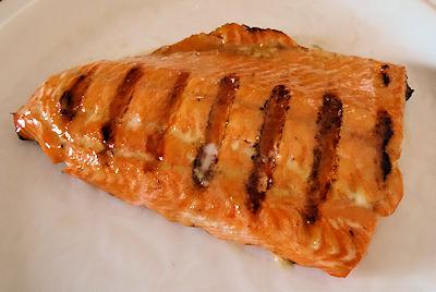 Maple Glazed Salmon 3