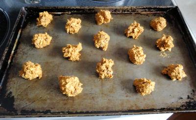 Old Fashioned Oatmeal Raisin Cookies 2