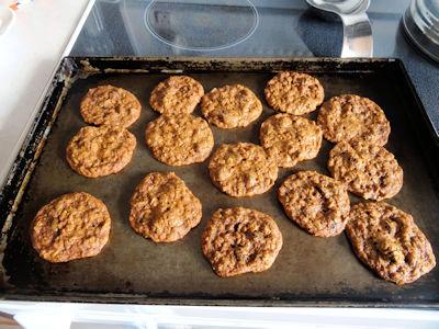 Old Fashioned Oatmeal Raisin Cookies 3