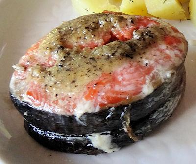 Fancy Shmancy Salmon at oldfatguy.ca