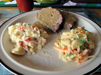 Meatloaf and Gravy 7