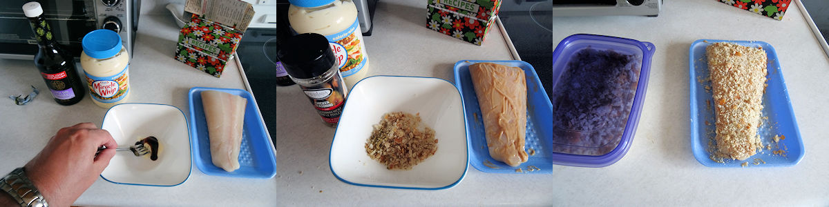Quick Breaded Halibut 1