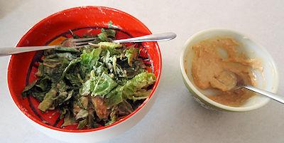 Seafood Ceasar Salad 2