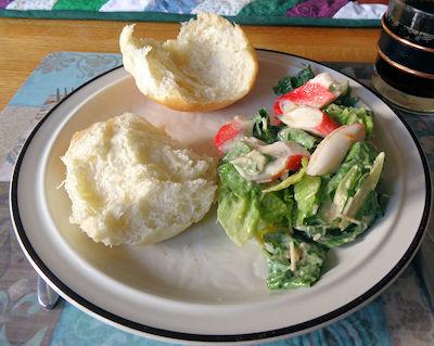 Seafood Ceasar Salad 5
