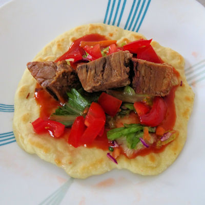 Carne Asada Burnt End Tacos at oldfatguy.ca