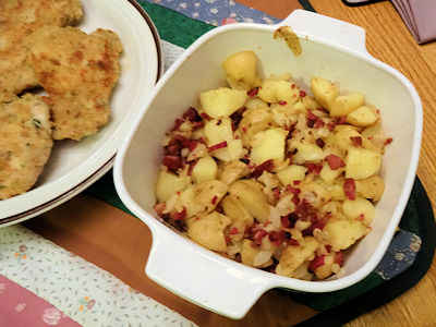 Greek Fried Potatoes