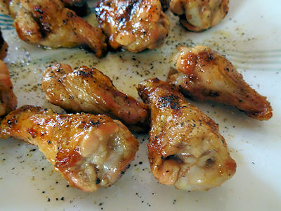 Easy Salt & Pepper Wings