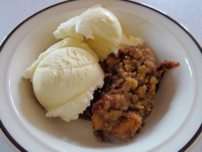 Molasses Apple Crisp From Crosby's Molasses