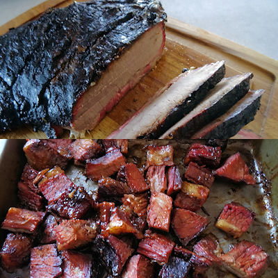 Basic Smoked Brisket & Burnt Ends