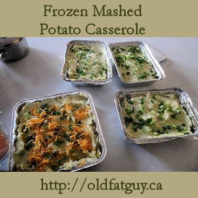 Frozen Mashed Potato Casserole