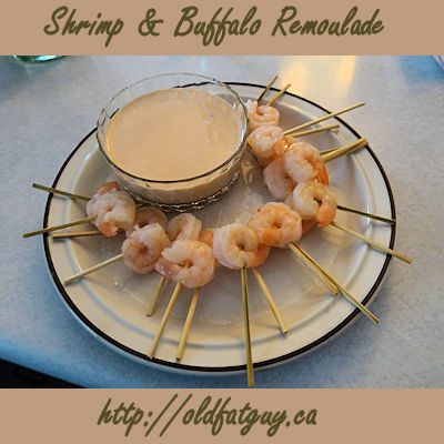 Shrimp & Buffalo Remoulade
