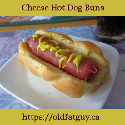 Cheese Hot Dog Buns