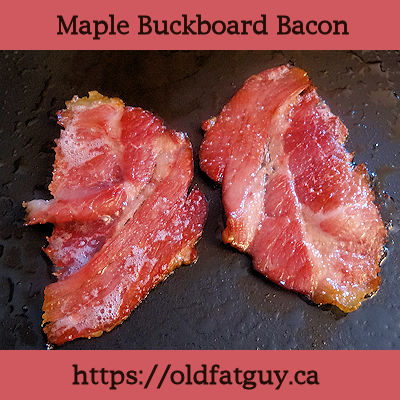 Maple Buckboard Bacon