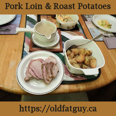 Pork Loin & Roast Potatoes