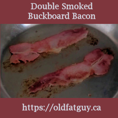 Double Smoked Buckboard Bacon