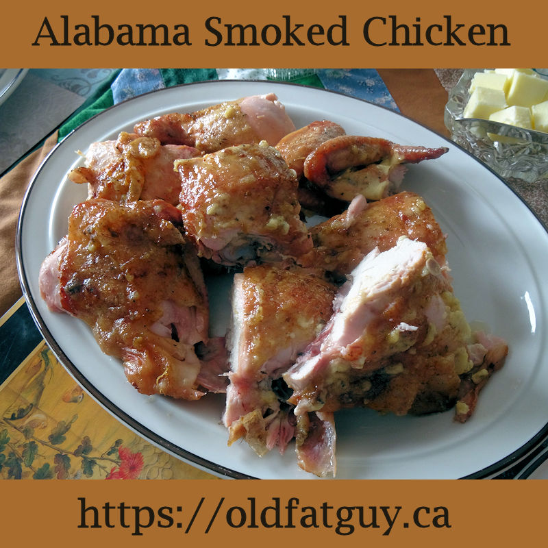 Alabama Smoked Chicken