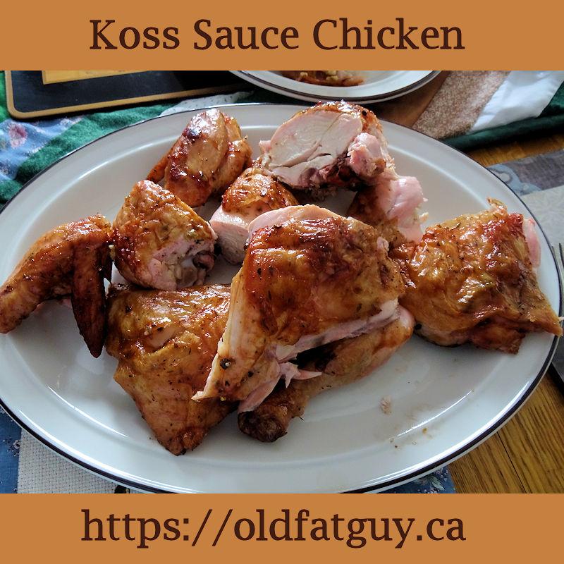 Koss Sauce Chicken