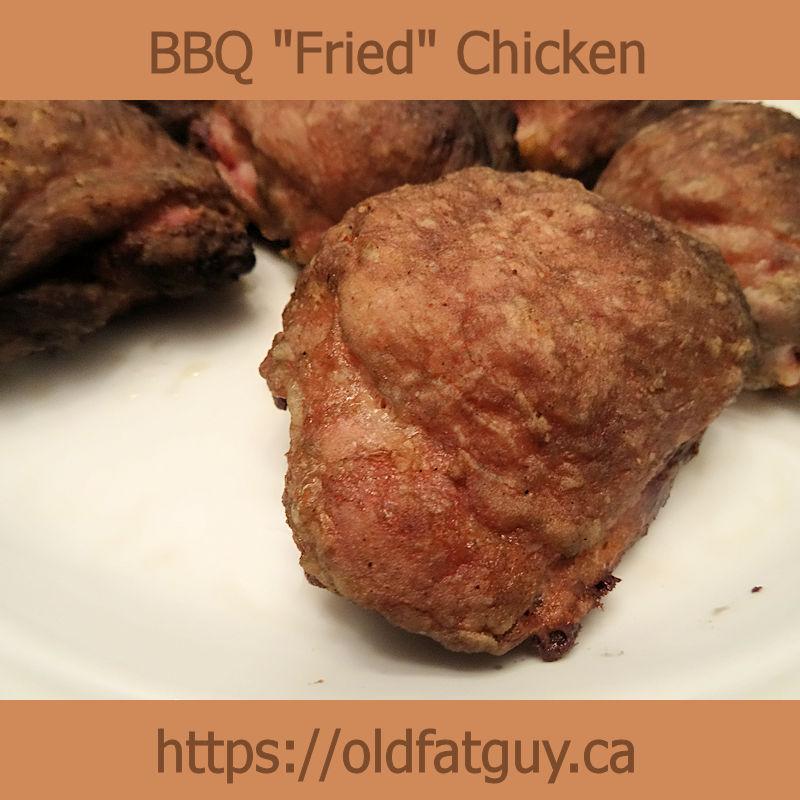 "BBQ ""Fried"" Chicken"