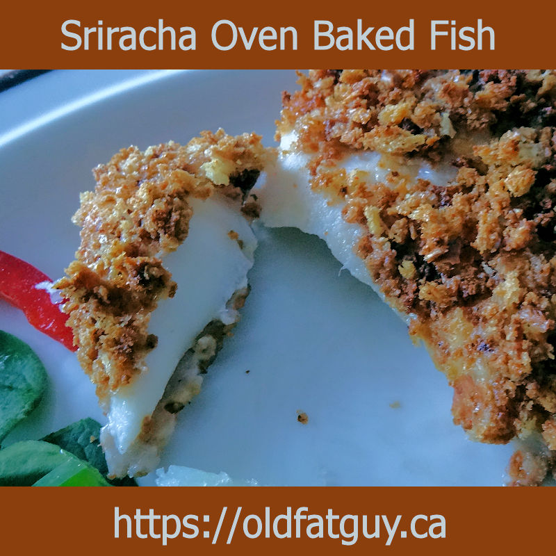 Sriracha Oven Baked Fish