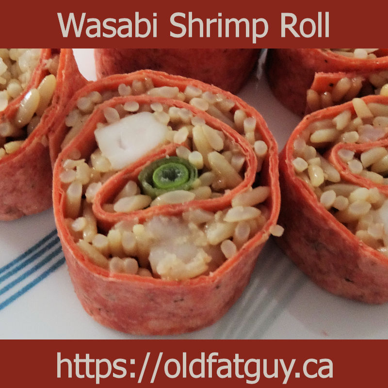 Wasabi Shrimp Roll