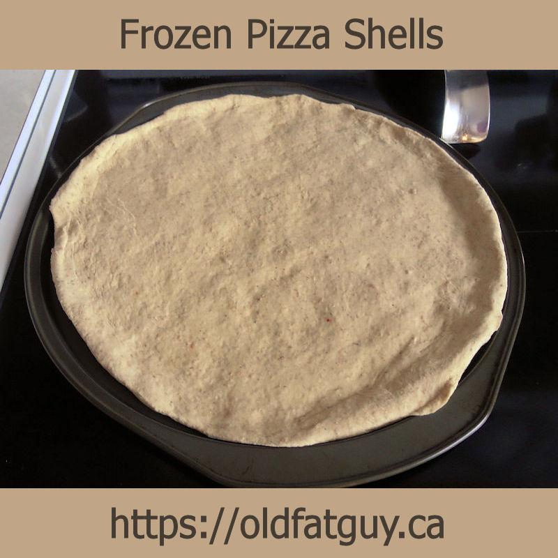 Frozen Pizza Shells