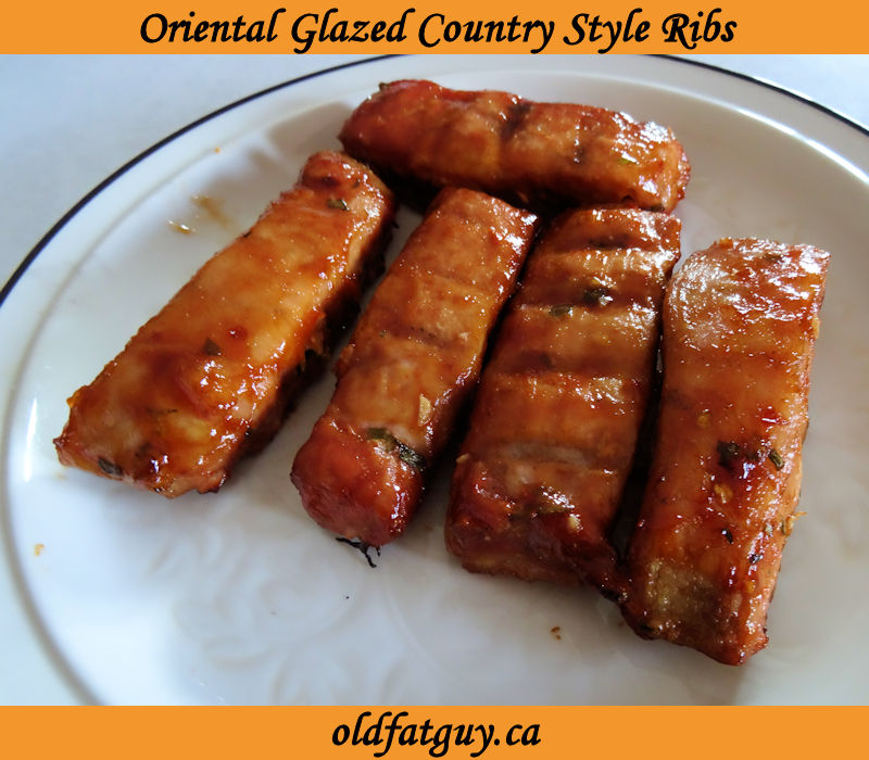 Oriental Glazed Country Style Ribs
