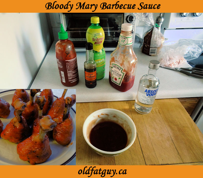 Bloody Mary Barbecue Sauce