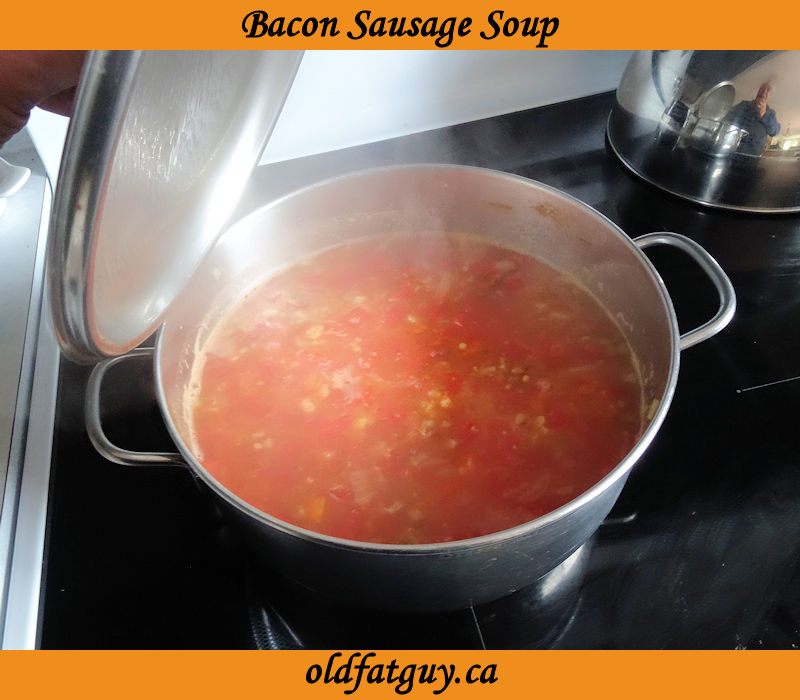 Bacon Sausage Soup
