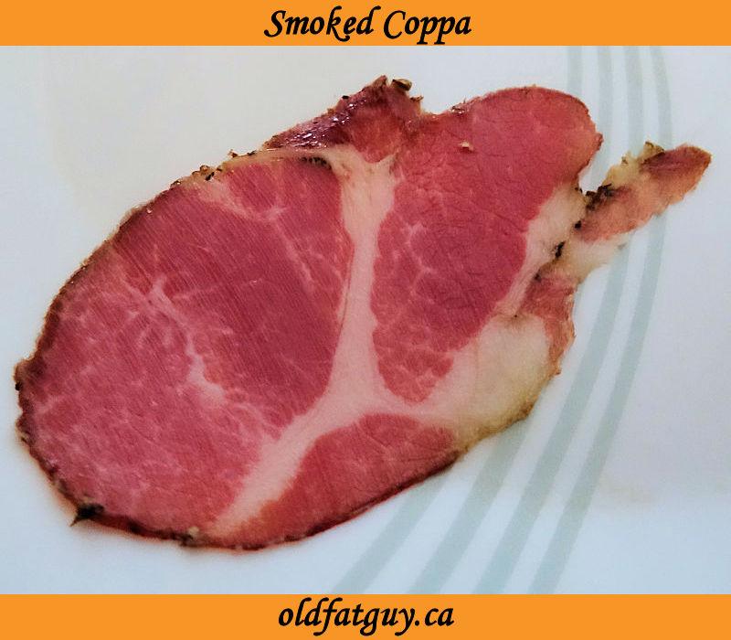 Smoked Coppa