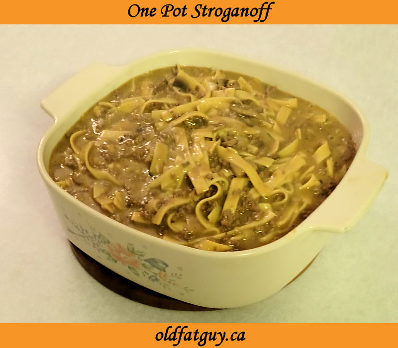 One Pot Stroganoff