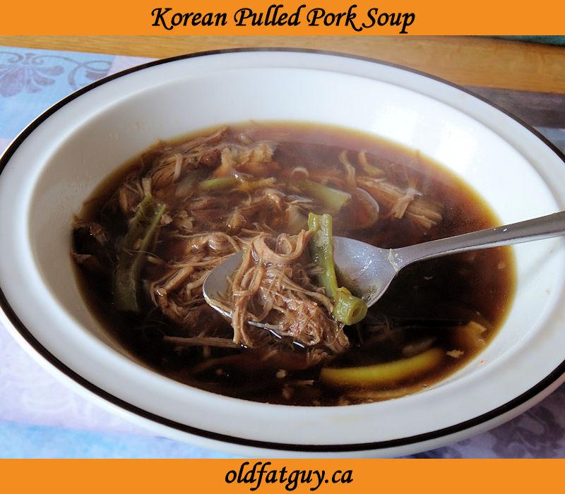 Korean Pulled Pork Soup