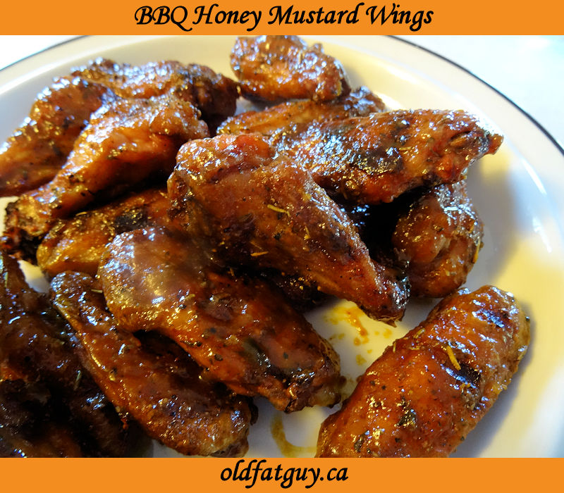 BBQ Honey Mustard Wings