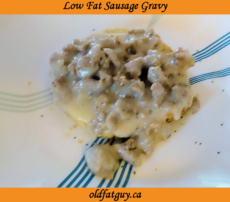 Low Fat Sausage Gravy
