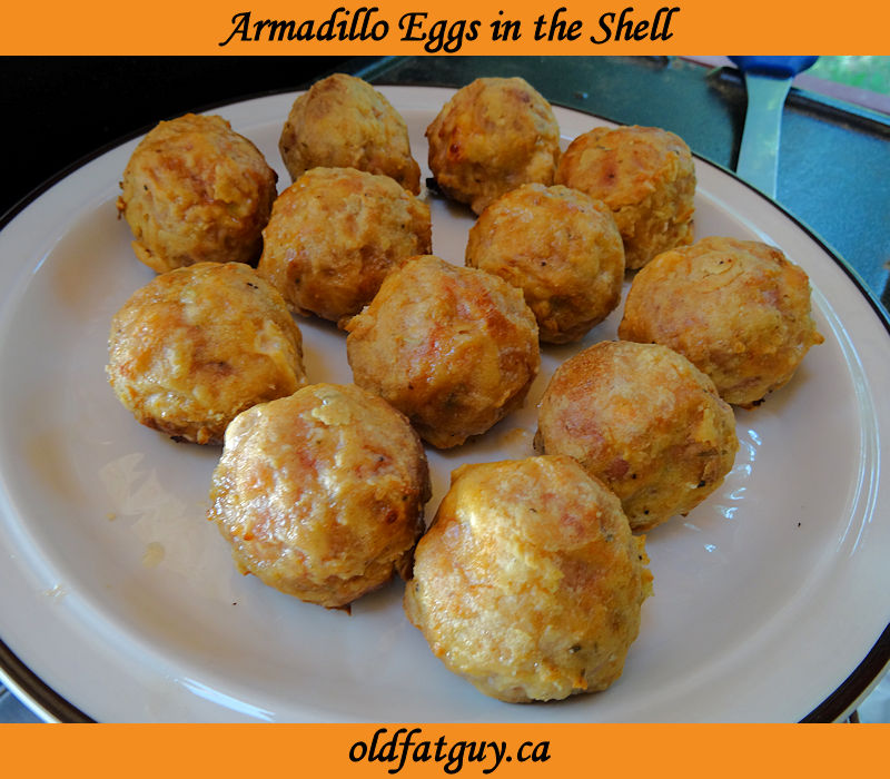 Armadillo Eggs in the Shell