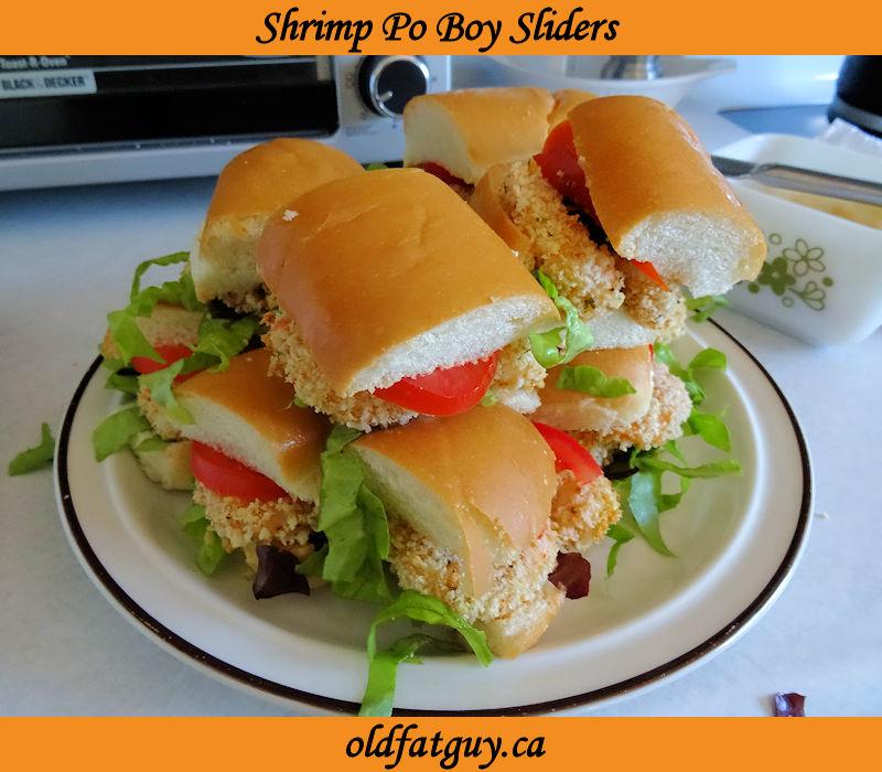 Shrimp Po Boy Sliders
