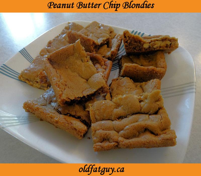 Peanut Butter Chip Blondies